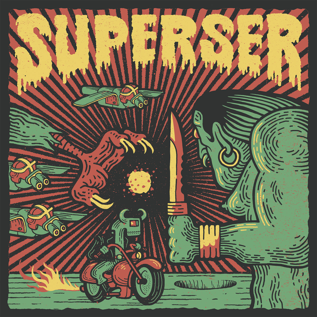 Superser - Radiaciones en la noche
